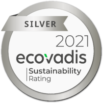 2021 EcoVadis Silver Medal png