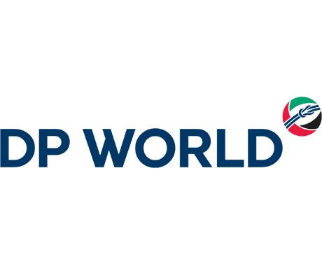DP World logo in the-1