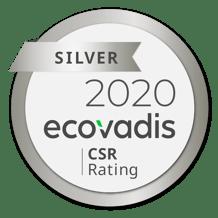 EcoVadis Unifeeder Silver Medal 2020 PNG
