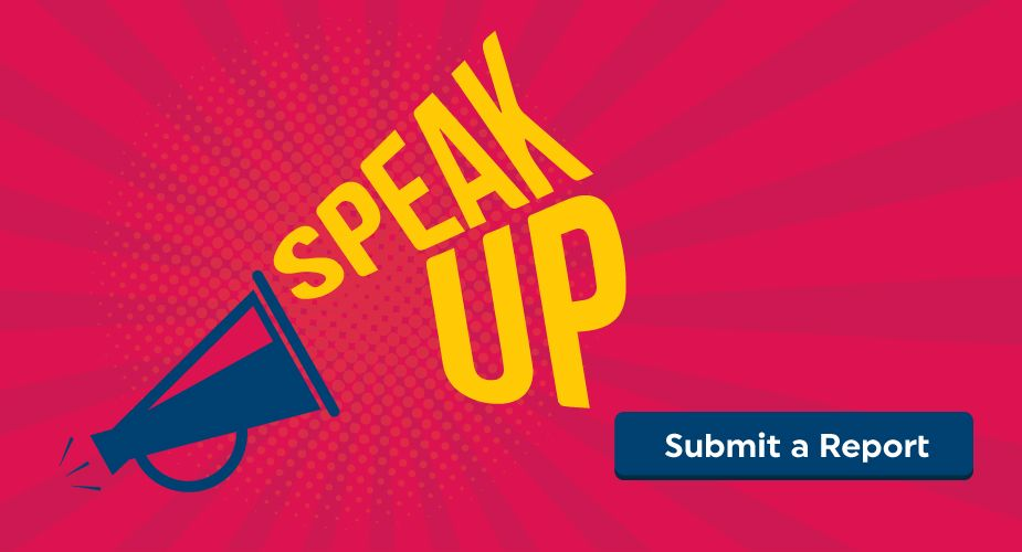 Speak Up - whistelblower hotline
